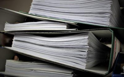 Durée de conservation des papiers