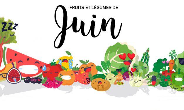 Fruits & légumes de Juin