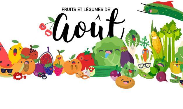 Fruits & Légumes d'Aout