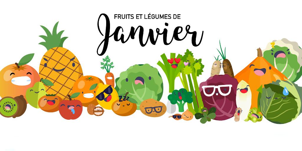 Fruits & Légumes de Janvier