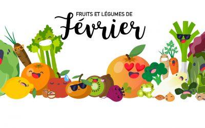 Fruits & Légumes de Février