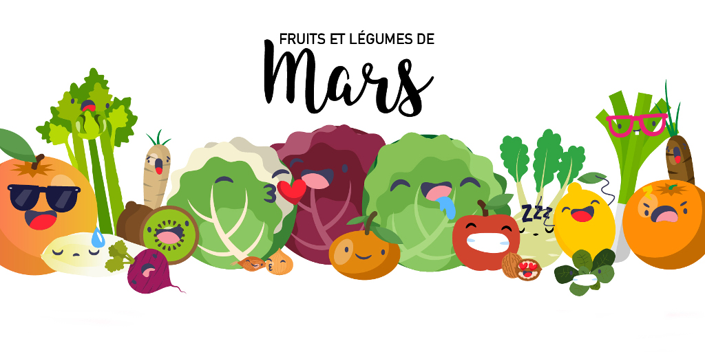 Fruits & Légumes de Mars