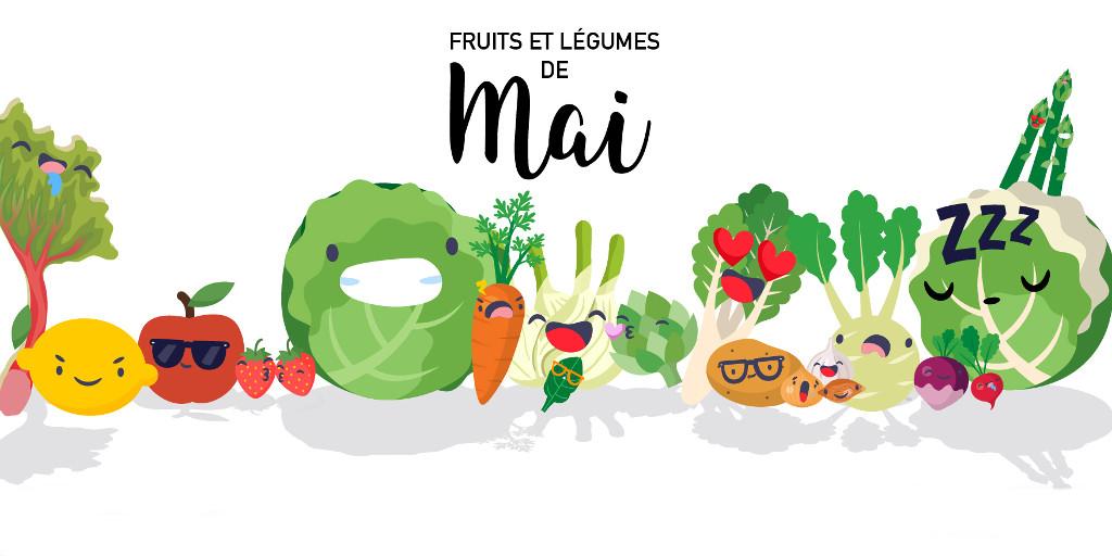 Fruits & légumes de Mai