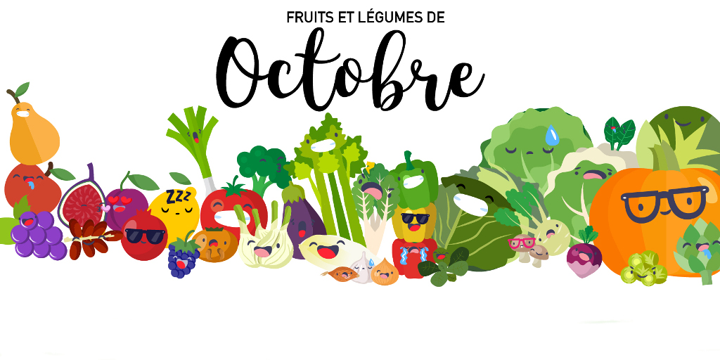 Fruits & Légumes d'Octobre