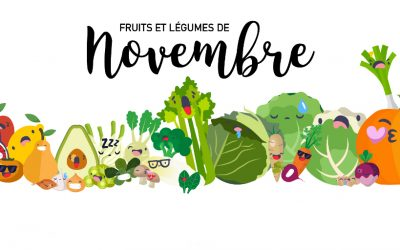 Fruits & Légumes de Novembre