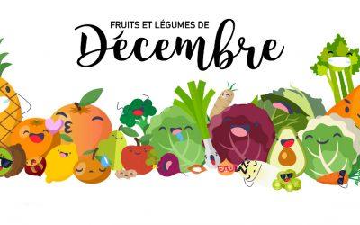 Fruits & Légumes de Décembre