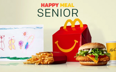 Happy Meal Senior chez Mc Donald's