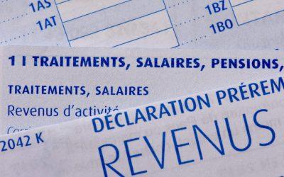 Déclaration Revenus en 2021