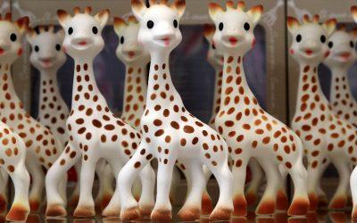 Sophie la girafe fête ses 60 ans
